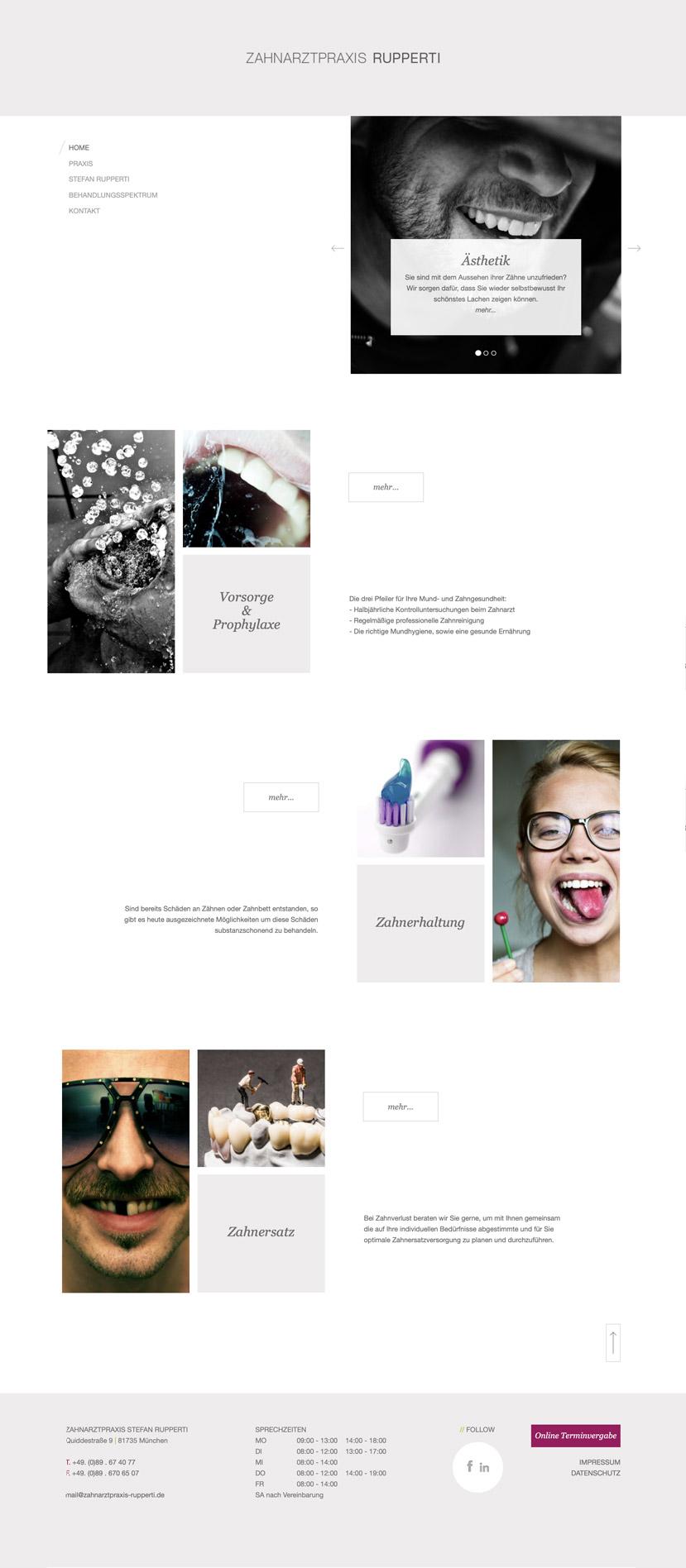 Praxismarketing Webdesign